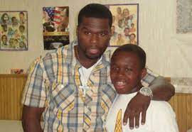 Marquise Jackson with his father