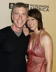 Tom Bergeron with his wife