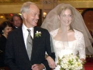 Ali Wentworth with her father