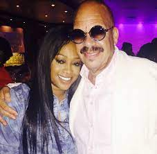 Trina rapper with her father