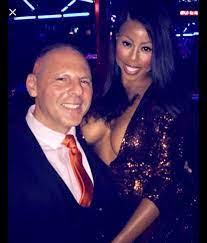 Kim Klacik with her husband