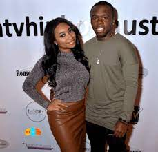 Marquise Jackson with his girlfriend