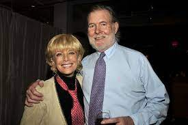 Lesley Stahl with her husband Aaron