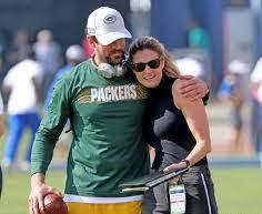 Erin Andrews with her ex-boyfriend Aaron