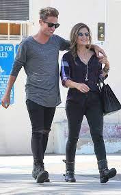 Lucy Hale with her ex-boyfriend Adam