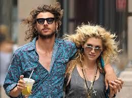 Kesha with her ex-boyfriend Alex