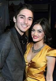 Lucy Hale with her ex-boyfriend Alex
