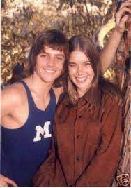 Mark Hamill with his ex-girlfriend Anne