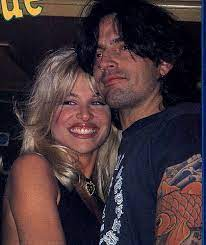 Tommy Lee with his ex-girlfriend Bobbie