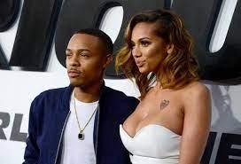 Cyn Santana with her ex-boyfriend Bow
