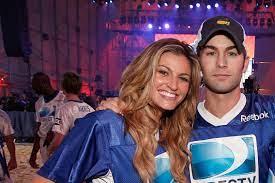 Erin Andrews with her ex-boyfriend Chace