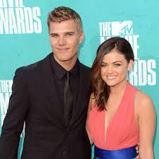 Lucy Hale with her ex-boyfriend Chris