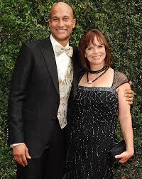Keegan-Michael Key with his ex-wife Cynthia
