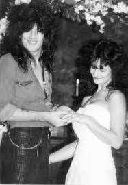 Tommy Lee with his ex-wife Elaine