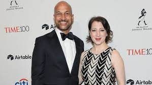 Keegan-Michael Key with his wife Elisa