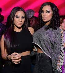 Cyn Santana with her ex-partner Erica