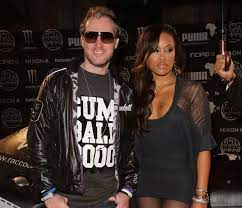 Eve with her husband