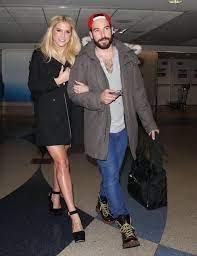 Kesha with her ex-boyfriend Faheem