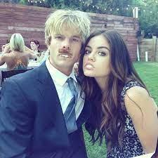Lucy Hale with her ex-boyfriend Graham