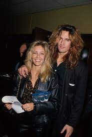 Tommy Lee with his ex-wife Heather
