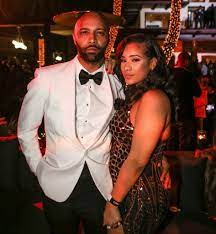 Cyn Santana with her boyfriend Joe