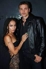 Zoe Kravitz with her ex-husband Karl