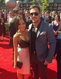 Danny Amendola with his ex-girlfriend Kay