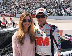 Chase Elliott with his ex-girlfriend Kaylie