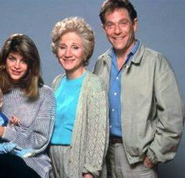 Kirstie Alley with her parents