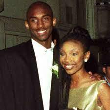 Brandy Norwood with her ex-boyfriend Kobe