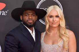 P.K. Subban with his girlfriend