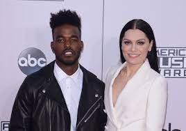 Jessie J with her boyfriend Luke