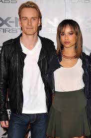 Zoe Kravitz with her ex-boyfriend Michael