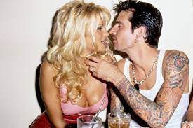 Tommy Lee with his ex-wife Pamela