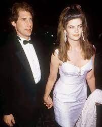 Kirstie Alley with her ex-husband Parker