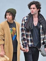 Zoe Kravitz with her ex-boyfriend Penn
