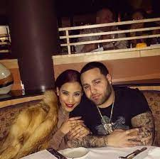 Cyn Santana with her ex-boyfriend Ray