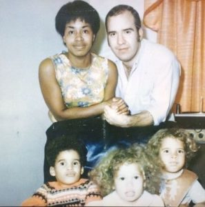 Rebecca King-Crews with her family