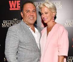Dorinda Medley with her ex-husband Richard