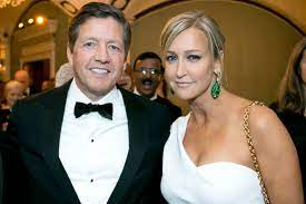 Lara Spencer with her husband Rick