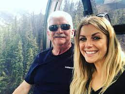 Lindsay Ell with her father