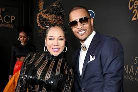 Tameka Cottle with her ex-husband T.I.