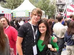 Lucy Hale with her ex-boyfriend Tony