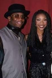 Brandy Norwood with her ex-boyfriend Wayna