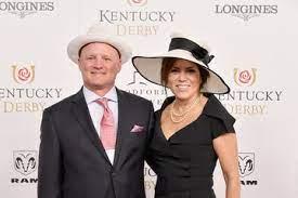 Michele Tafoya with her husband