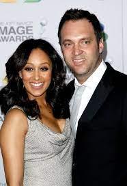 Tamera Mowry-Housley with her husband