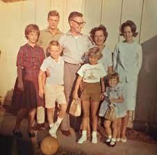 Mark Hamill with his family