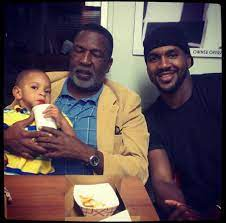 Van Lathan with his father