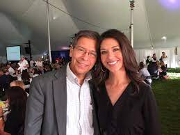 Ana Cabrera with her father
