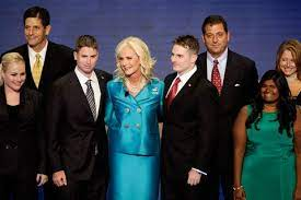 Bridget McCain with her family